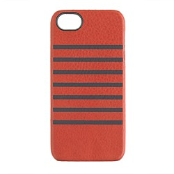 Leather patterned case for iPhone 5