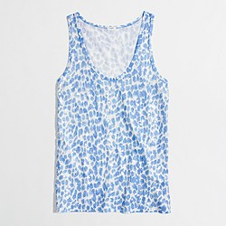 Factory sequin cheetah tank