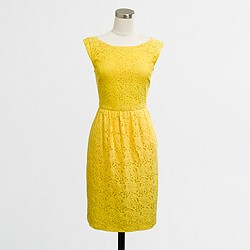 Factory Cora lace dress