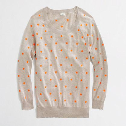 Factory polka-dot pullover