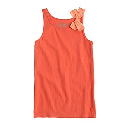 Girls' bow tank