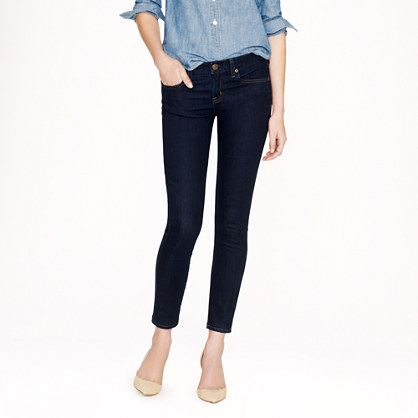 Tall toothpick jean in classic rinse wash