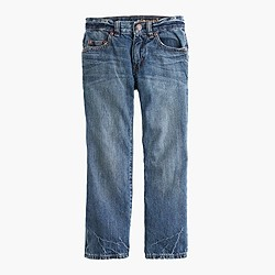 Boys' straight-fit jean in rugged wash