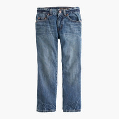 Boys' straight jean in rugged wash