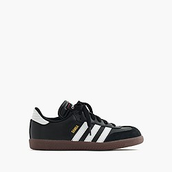 Kids' Adidas® Samba® sneakers with red tongue stitch