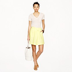 Boardwalk linen skirt