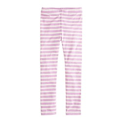 Girls' everyday leggings in getaway stripe