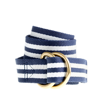 Stripe boating belt