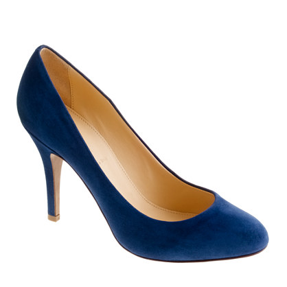 Mona suede pumps - pumps - Women's shoes - J.Crew