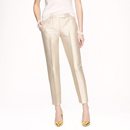 Collection lustre twill pant