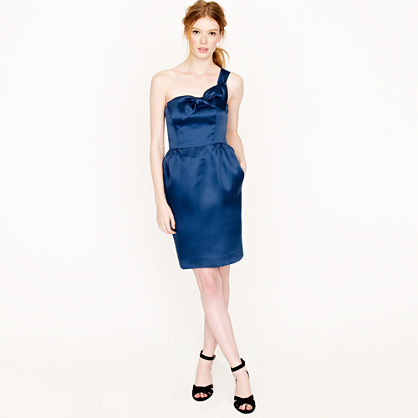 Faye dress in silk organza