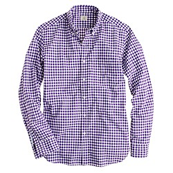 Secret Wash shirt in medium gingham