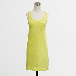 Factory ringspun cotton tankdress
