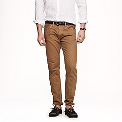 484 garment-dyed jean in dusty camel