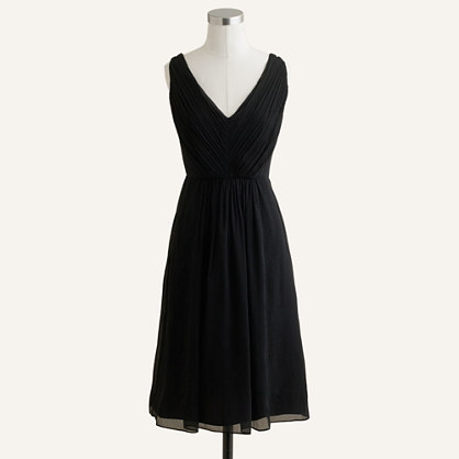 Louisa dress in silk chiffon
