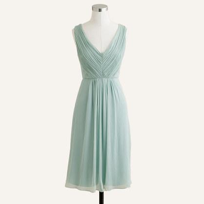 Louisa dress in silk chiffon