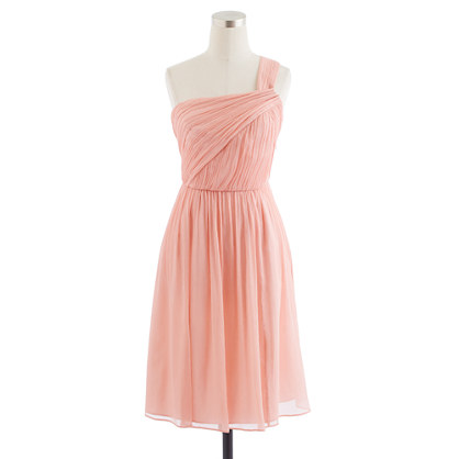 Lucienne dress in silk chiffon