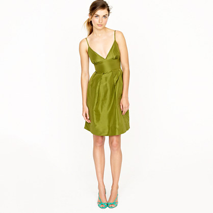 Adrienne dress in silk taffeta