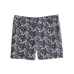 "Liberty 5"" chino short in June's Meadow floral"