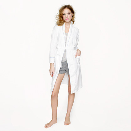 Thomas Mason® for J.Crew robe