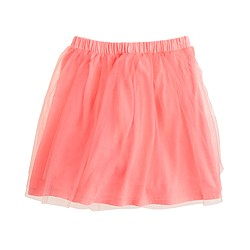 Girls' tippy-toe tulle skirt