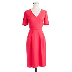 Memo dress in Super 120s