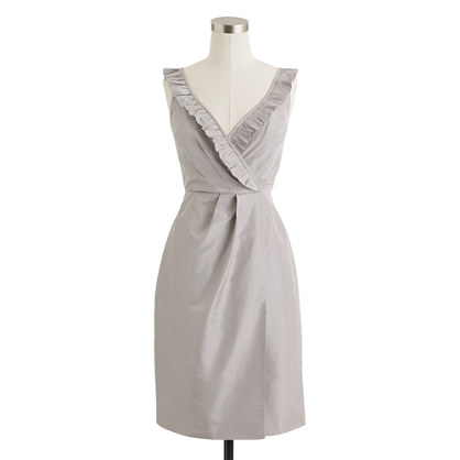 Elyse dress in silk taffeta