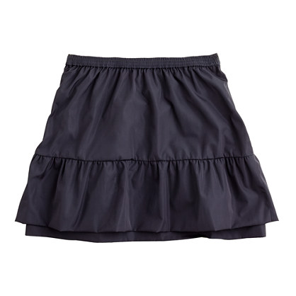 Girls' taffeta prance skirt