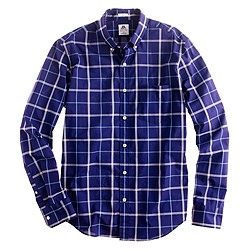 Slim Thomas Mason® Archive for J.Crew shirt in 1879 plaid