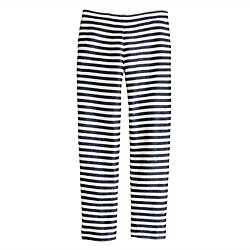 Collection raffia stripe pant