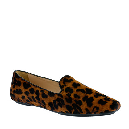 Collection Darby calf hair loafers