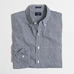 Factory slim washed shirt