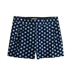 Indigo dot short