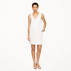 Collection linen cutout dress