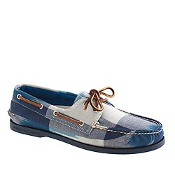 Sperry Top-Sider® for J.Crew Authentic Original 2-eye boat shoes in Ikat