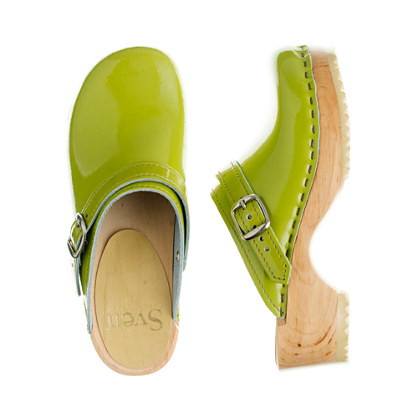 Girls' patent leather Sven® clogs