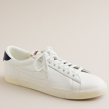 Nike For JCrew Vintage Collection Leather Tennis Classic