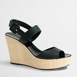Factory Maryanne straw wedges