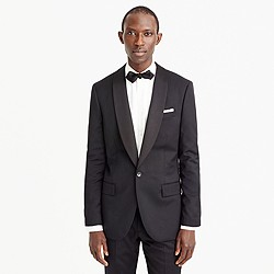 Ludlow shawl-collar tuxedo jacket with double vent in Italian wool