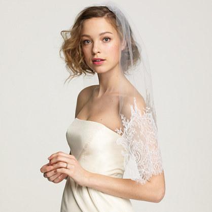 Jennifer Behr Chantilly veil