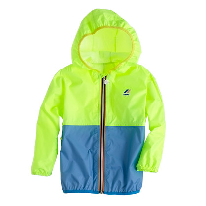 K-Way® for crewcuts Claude Klassic jacket in colorblock
