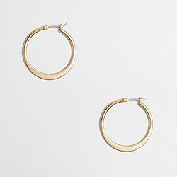 Factory hoop earrings