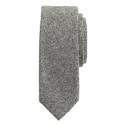Irish bird's-eye wool tie