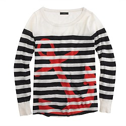Collection featherweight cashmere anchor sweater