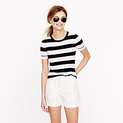 Collection featherweight cashmere tee in stripe