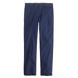 Bowery slim pant in indigo dot