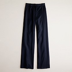 Petite Hutton trouser in pinstripe Super 120s