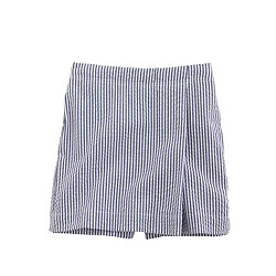 Girls' seersucker skort