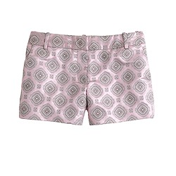Collection metallic foulard short