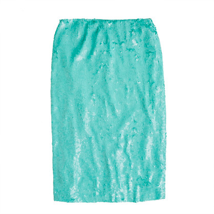 Collection No. 2 pencil skirt in sequins